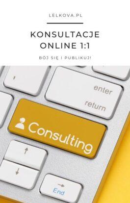 Konsultacje 1:1 (60 min)