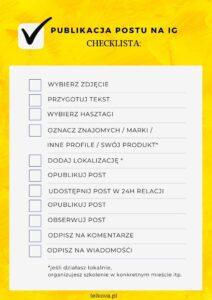 Checklista IG Okładka